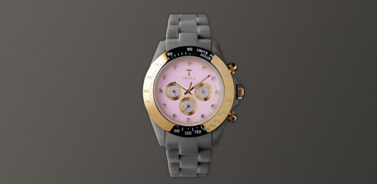 The Greystone Chrono - which I think would make a perfect (ahem) birthday gift.  It goes great with all metal colors.