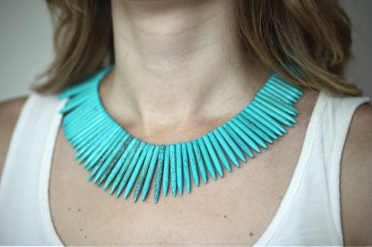 Tribal Queen Necklace by Moorea Seal, $65.00