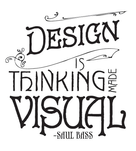 design saying
