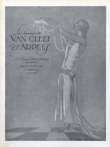 Van Cleef & Arpels (Jewels) 1925 via Pinterest