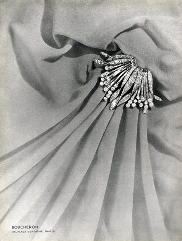Boucheron (Jewels) 1941 Brooch via Pinterest