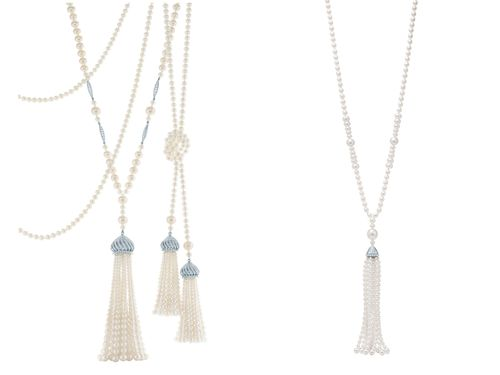 The Great Gatsby Collection Pearl Tassel Necklace, $35,000.00
