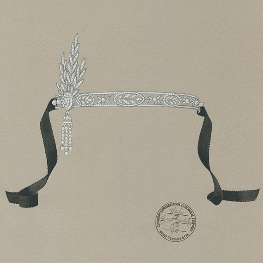 Sketch-for-the-Savoy-headpiece-from-The-Great-Gatsby-Collection