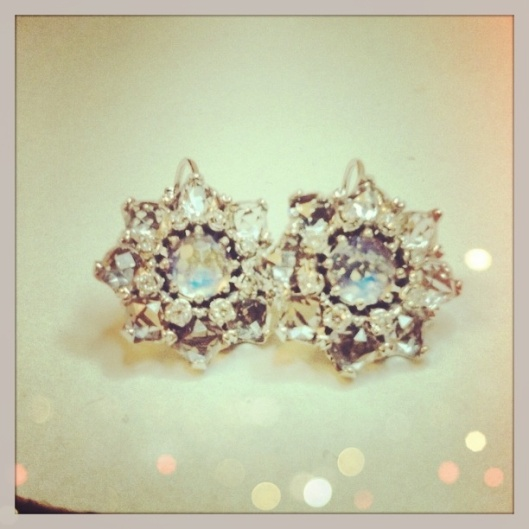 Custom Wedding Earrings by H.A.R. Jewelry