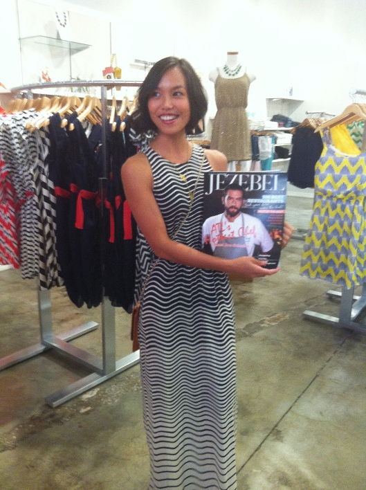 Blogger Kate Greer fro Kate Styled Pretty - Featured in this month's Jezebel Magazine!  Sweet!