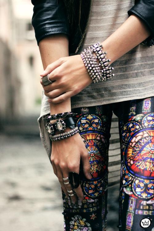 stainglass leggings